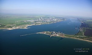 Дноуглубление порта «Южный» признано «Достижением года - 2014»