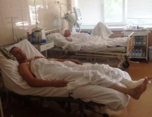 В Одесский военный госпиталь из Запорожья привезли 28 бойцов