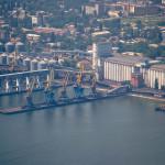Новый ускоренный способ погрузки зерновых в Одесском порту
