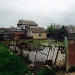 Грунтовые воды затапливают сотни участков и школу в селе Дачное Беляевского...