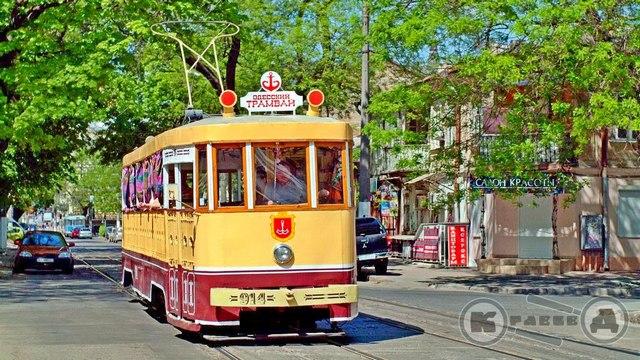Трамвайная станция на Тираспольской плащади