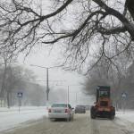 В Одессе продолжает свирепствовать непогода