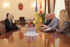 Взаимоотношения Одессы и Армении
