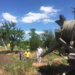 В Одесской области заложили фундамент Воскресной школы