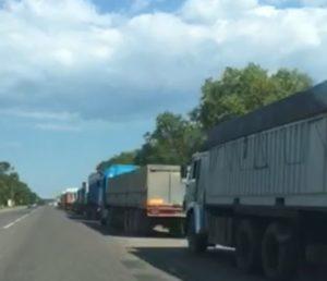 «Под градусом» : ограничение движения в Одесской области