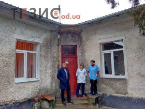 Ремонт амбулатории в селе Одесской области продолжается