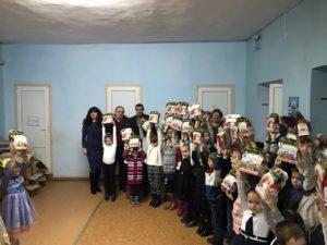 В Одесской области дети получили  подарки