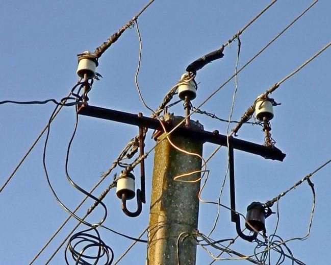Бесхозность электроустановок в Одесской области