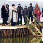 Крещение Господне: православные искупались в Хаджибейском лимане (ВИДЕО, ФО...