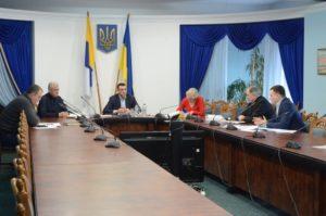 В облсовете проходят заседания профильных комиссий