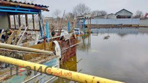 В пригороде Одессы подтоплен населенный пункт (ФОТО, ВИДЕО)