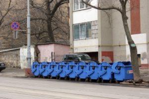 В Одессе ведется установка новых контейнеров