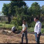 Строительство спортивной площадки возобновилось в селе Набережное