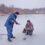 С зимними рыбаками в Тарутинском районе спасатели проводят разъяснительные беседы (фото)